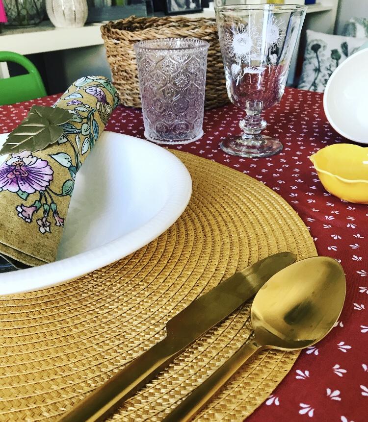 Color Terracota en tu Mesa de Zara Home