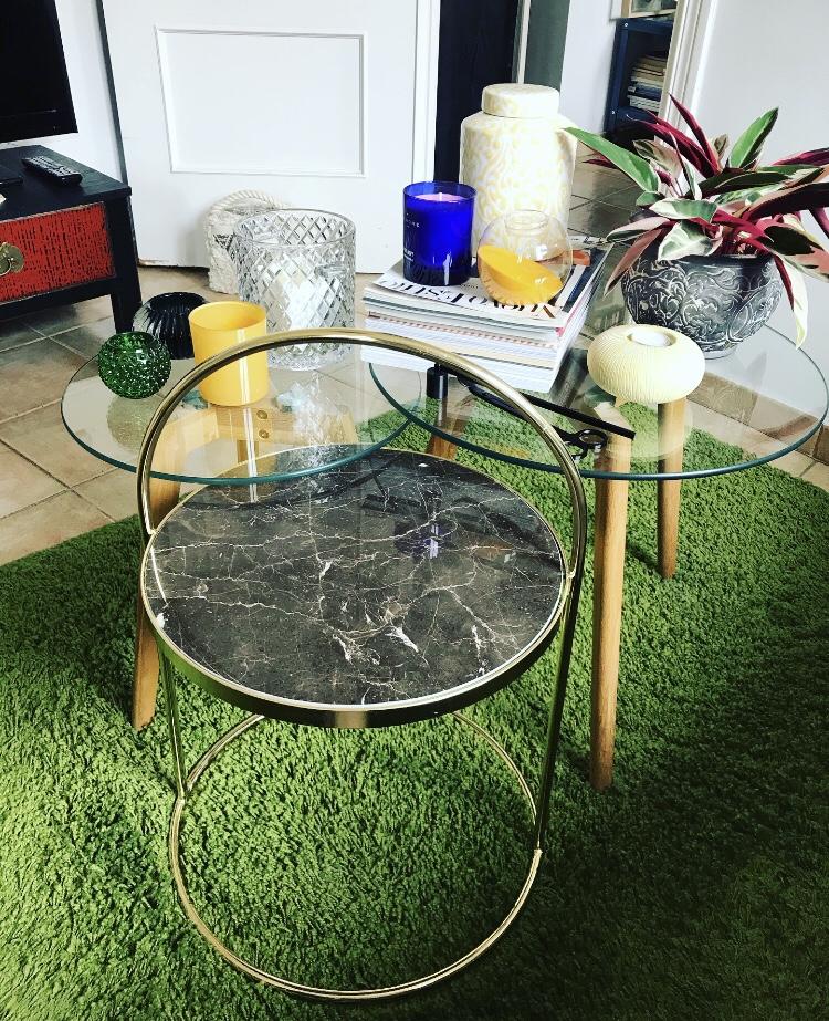 Mesa con Asa Mármol - Zara Home