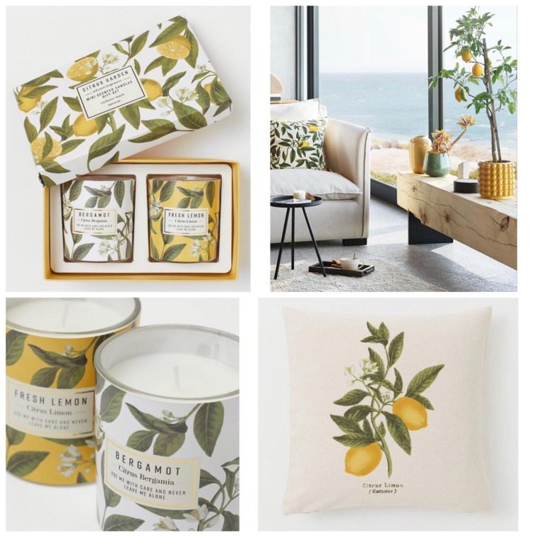 Colección Limones H&M Home