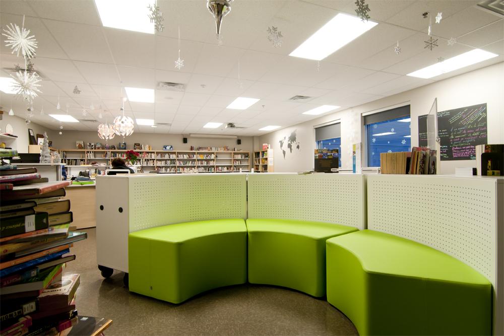 Collge Citoyen Laval QC Bibliothque AQUEST Design