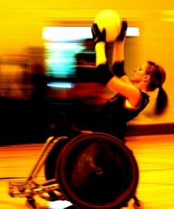 Nathalie - Wheelchair Rugby