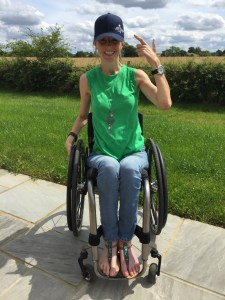 Wheelchair Athlete Nathalie McGloin