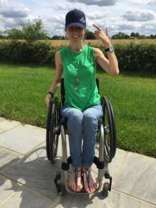 Wheelchair Athlete Nathalie McGloin