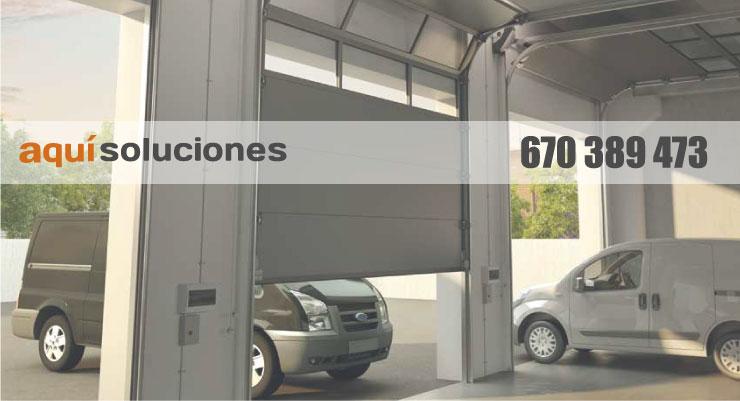 puertas seccional para garajes