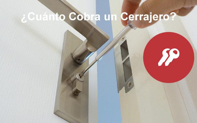 Cuánto cobra un cerrajero por abrir una puerta
