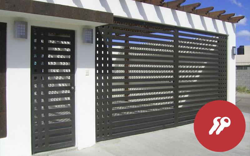 puertas rejas de seguridad