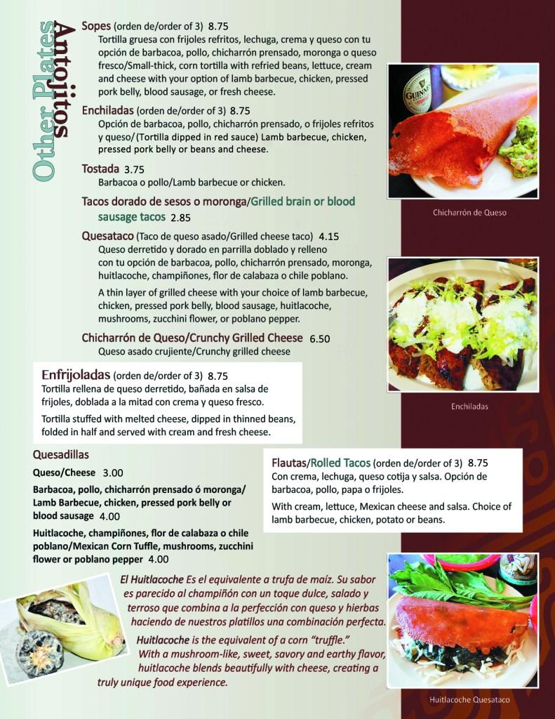 menu p3