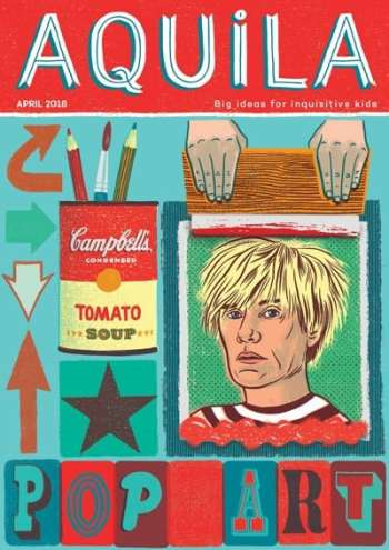 Aquila Children's Magazine - Pop Art - April 2018
