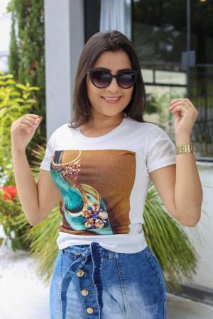 T-shirt Sapatilha