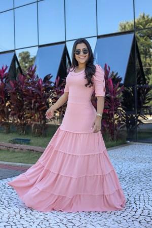 Vestido Longo Maria Amore