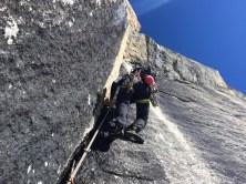 10_arrampicata, Demis nel tiro chiave bagnato