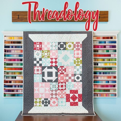 2019 threadology quilt along quilt