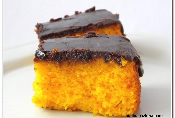 receita de bolo de cenoura