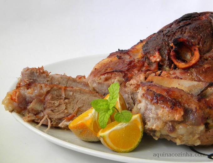 Carne de porco assada 7 Carne de Porco Assada com Manteiga e mel