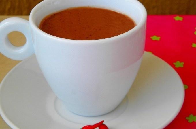 Chocolate quente com pimenta