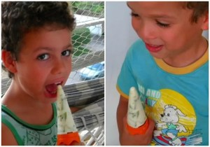 Receita de picolé de iogurte