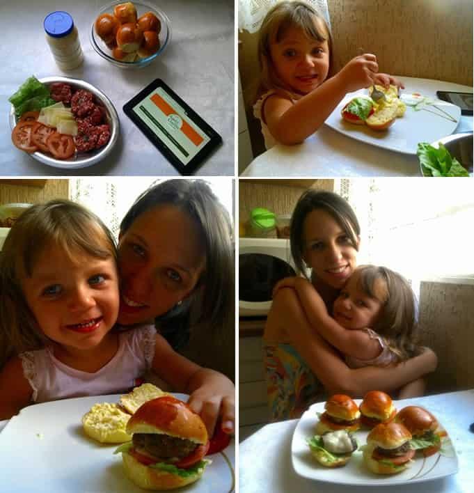 cheeseburger da Laura