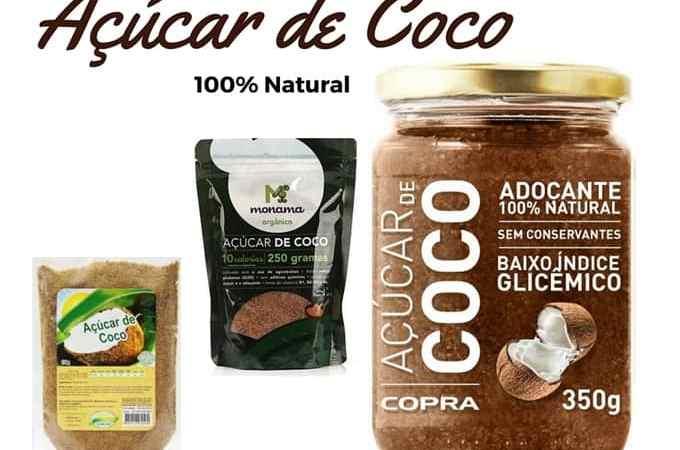 Açúcar de Coco