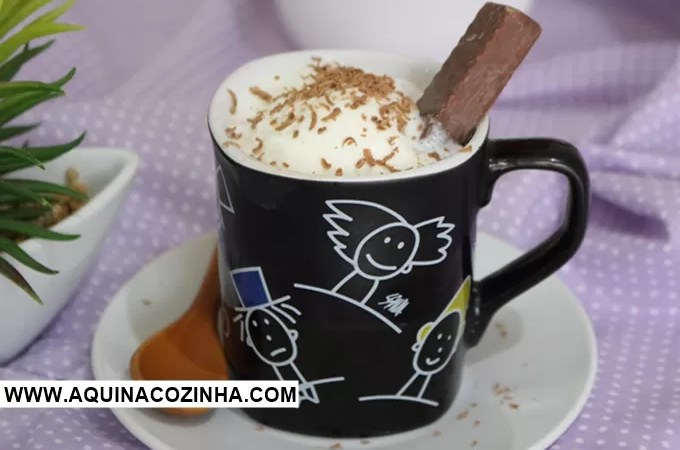 Chocolate Quente Affogato