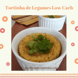 TORTINHA DE LEGUMES LOWCAR