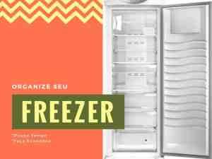 organizar o freezer