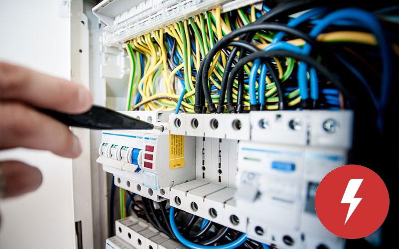 sobrecalentamiento en el cableado eléctrico