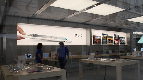 Un Apple Store      Bordeaux   Gironde   Actualit    s en Aquitaine apple store bordeaux