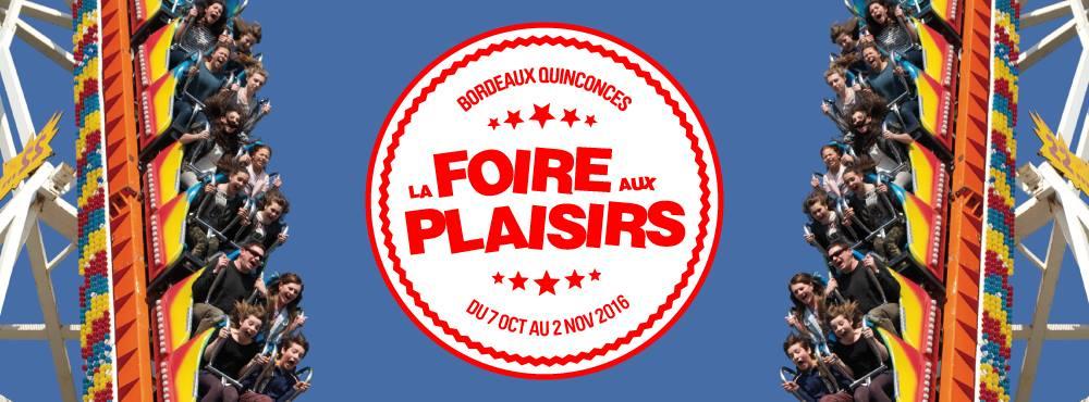 Bordeaux Foire Aux Plaisirs Place Des Quinconces