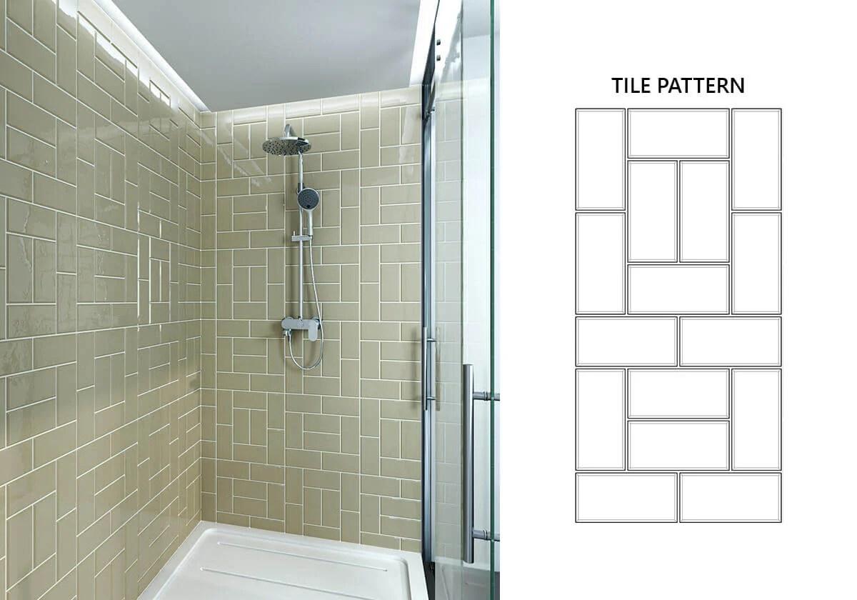 subway tile pattern inspiration for