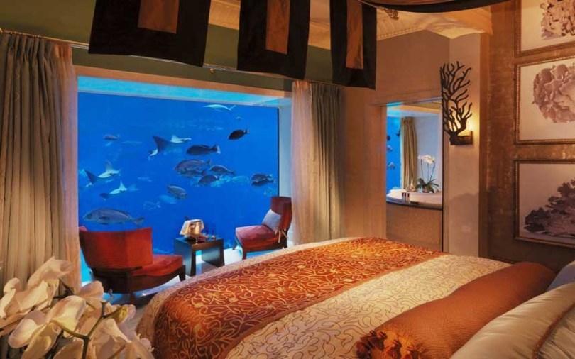 افضل الفنادق تحت الماء