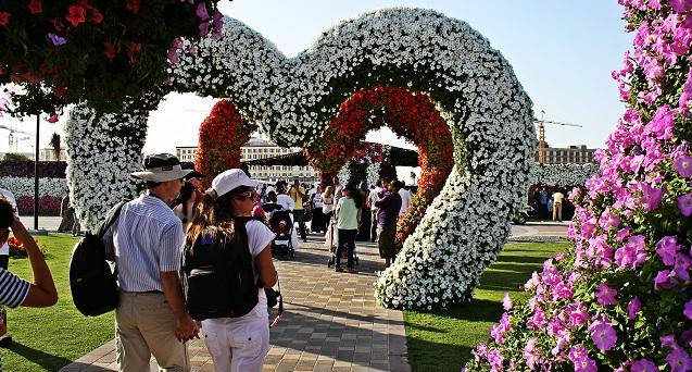صور حديقة الزهور