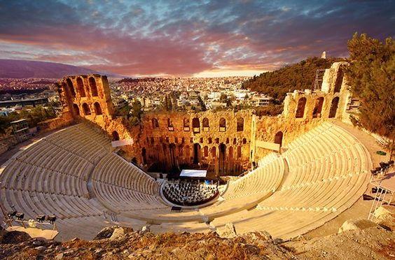 مسرح اوديون اثينا