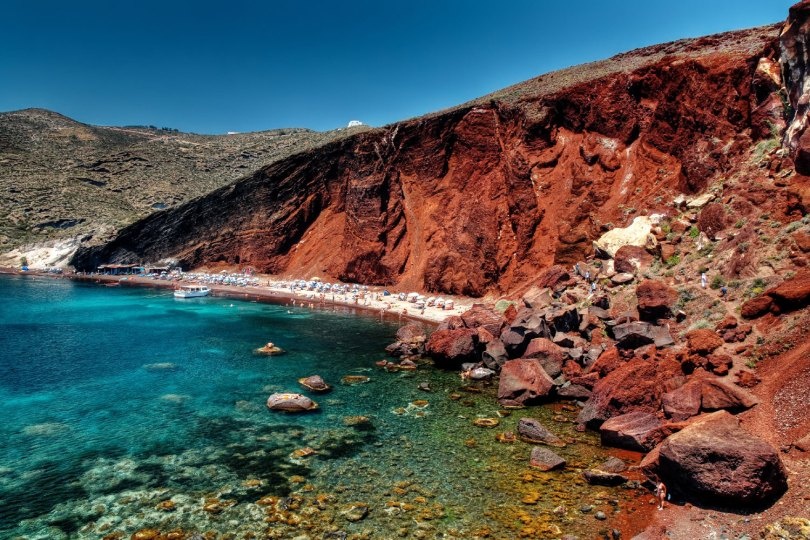 الشاطىء البركاني