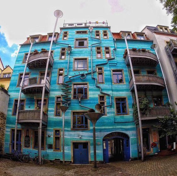 مبنى Kunsthofpassage