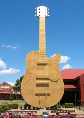 Big Golden Guitar, NSW