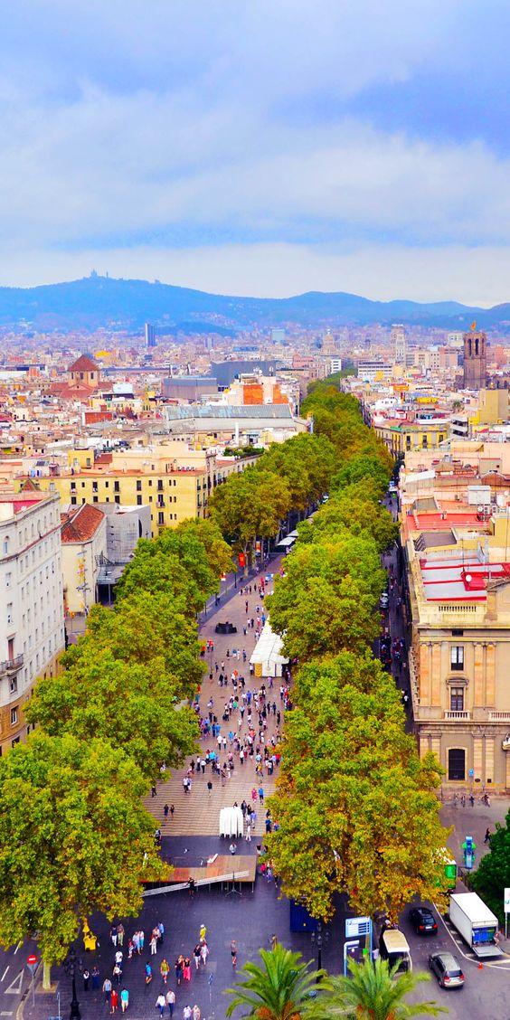 Las Ramblas برشلونة