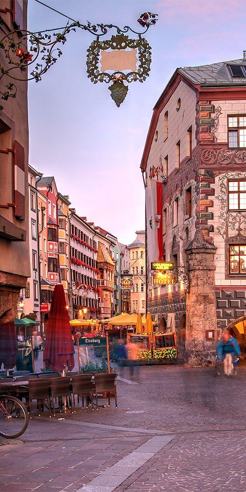 مدينة إنسبروك فى النمسا