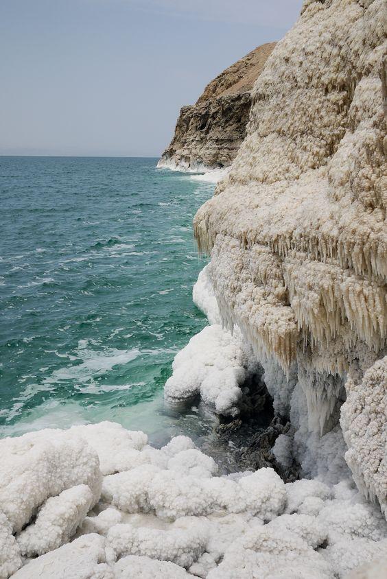 البحر الميت فى الاردن