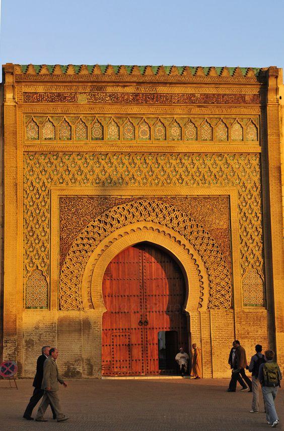 باب المنصور فى المغرب