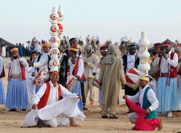 مهرجان صحراء في مدينة دوز