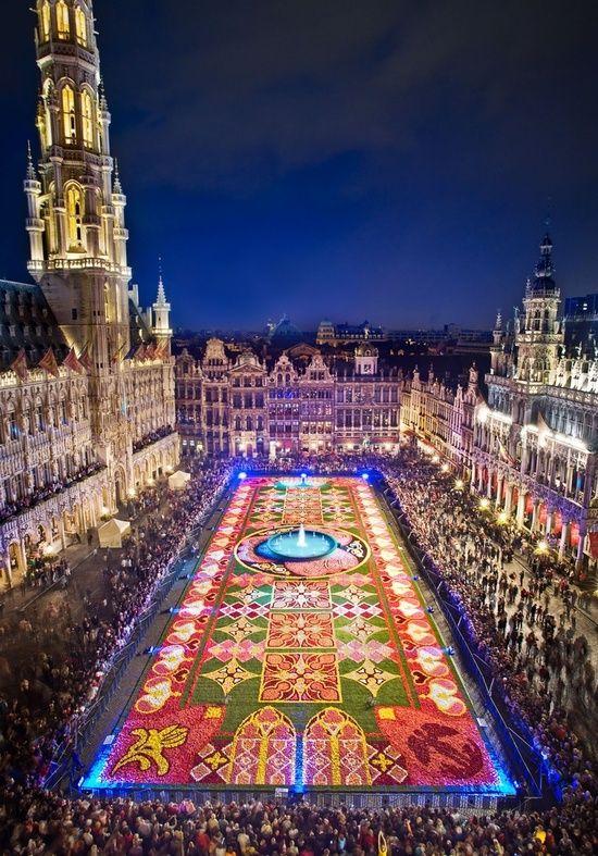 السفر إلى بروكسل