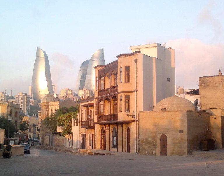المدينة القديمة فى اذربيجان Icheri Seher