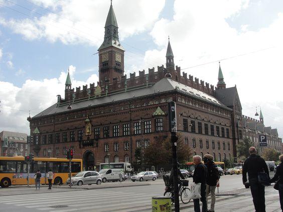 دار البلدية بكوبنهاجن