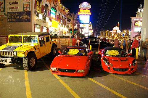 استئجار السيارات في فيجاس