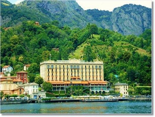 فندق غراند تريميتسو بحيرة كومو إيطاليا