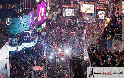 احتفالات رأس السنة 2017