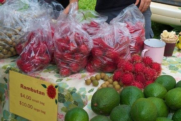 سوق المزارعين فى هانالي