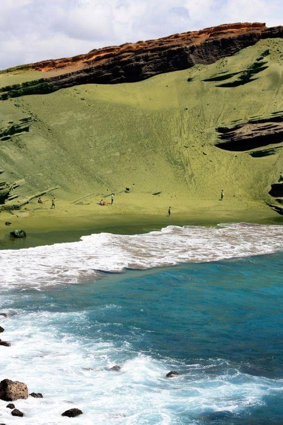 Papkolea beach