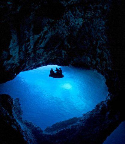 الغرفة الزرقاء بهاواي
