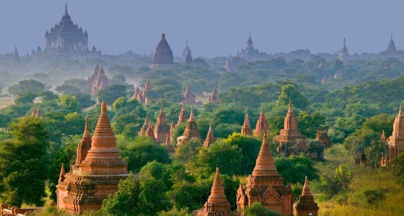 باغان فى ميانمار